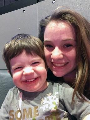 Natalie Bourn and Cousin Bennett