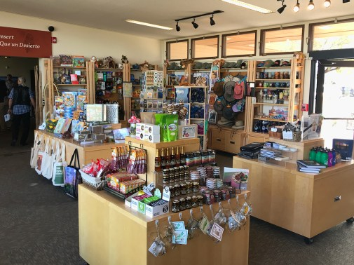 Rincon Mountain Visitor Center Gift Shop at Saguaro East