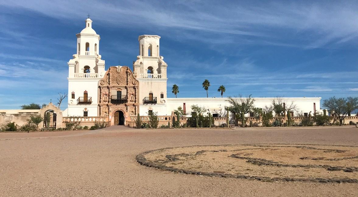 San Xavier Mission Near Tucson