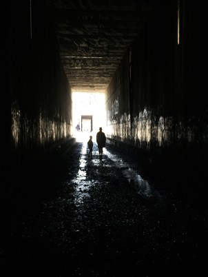 Walking Through Tunnel #7