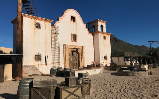 Wild West Mission at Old Tucson Studios