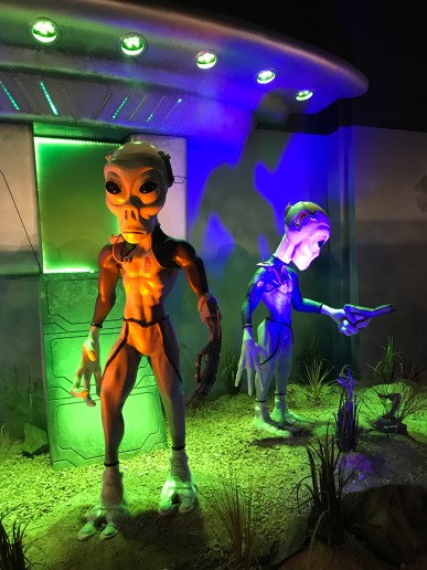 Aliens at Bowlin's The Thing