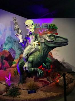 Aliens vs Dinosaurs Museum in Arizona