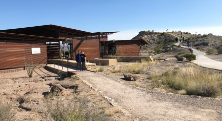 Big Bend National Park Fossil Discovery Exhibit Center