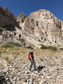 Carter Bourn Hiking into Boquillas Canyon