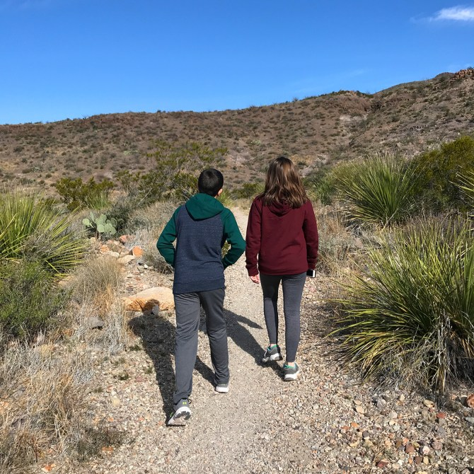 Carter and Natalie Bourn Hiking