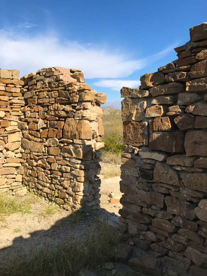 Dorgan Ruins Trail in Big Bend