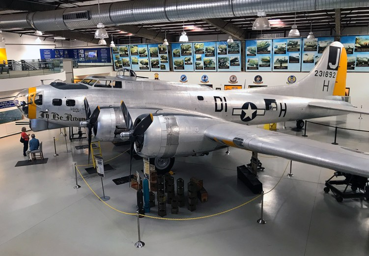Flying Fortress at the Pima Air and Space Museum