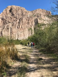 Hiking the Boquillas Canyon Trail