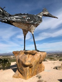 Las Cruces, New Mexico Roadrunner Statue