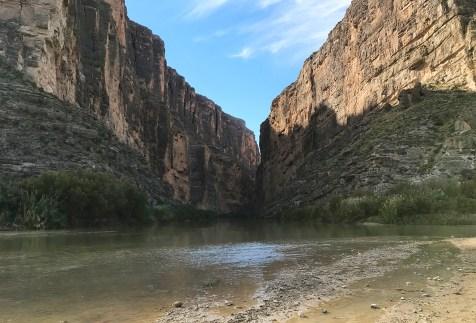 Looking Into Santa Elena Canyon