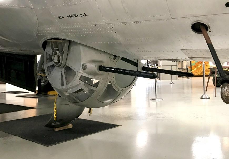 Military Bomber Guns