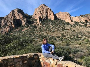 Natalie Bourn Along Chisos Basin Road