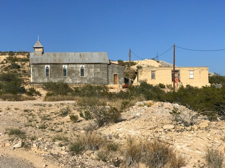 Old Church in Terlingua