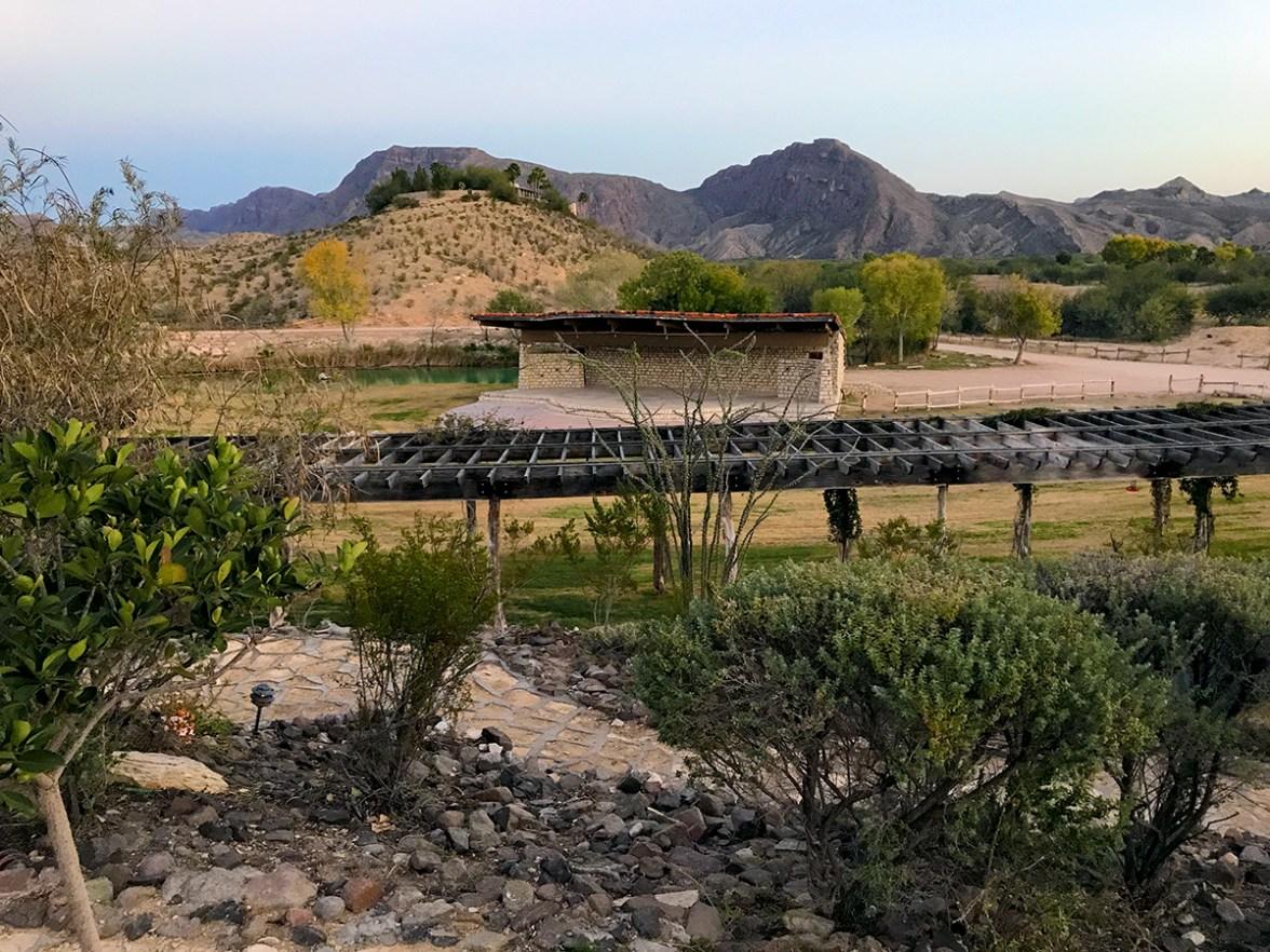 Outdoor Amphitheater in Lajitas, Texas