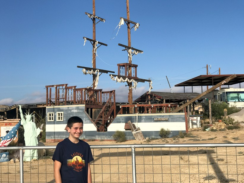 Carter Bourn At the Passing Wind Pirate Ship