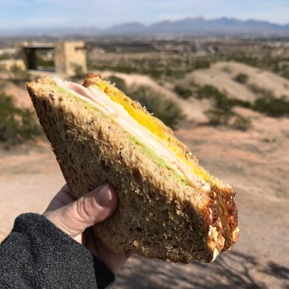 Picnic Lunch at the Las Cruces Scenic Rest Area