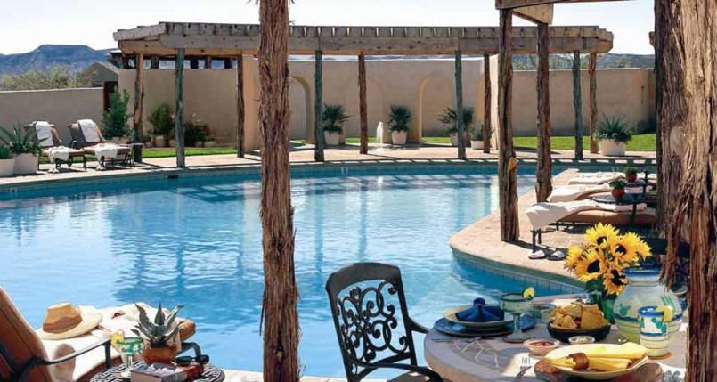 Swimming Pool at the Lajitas Golf Resort