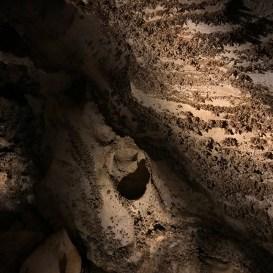 Tiny Rock Formations at Carlsbad Caverns in New Mexico