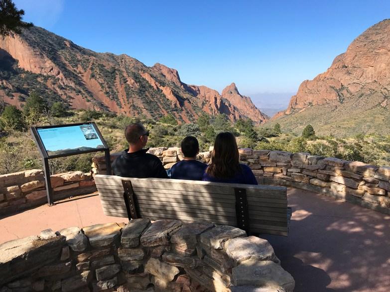 Window View Overlook in the Chisos Basin