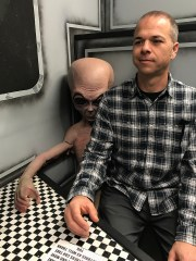 Alien Zone Photo Op in Roswell