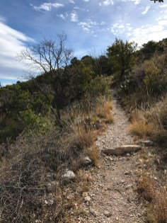 Hiking the Devil's Hall Trail