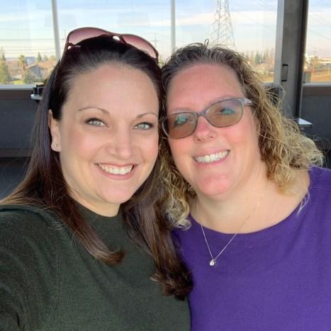 Jennifer Bourn and Melissa Lema