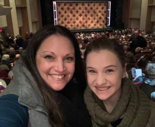 Jennifer and Natalie Bourn at Broadway Sacramento