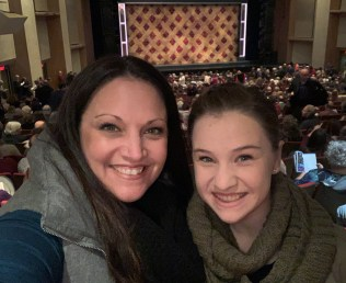 Jennifer and Natalie Bourn at Broadway Sacramento