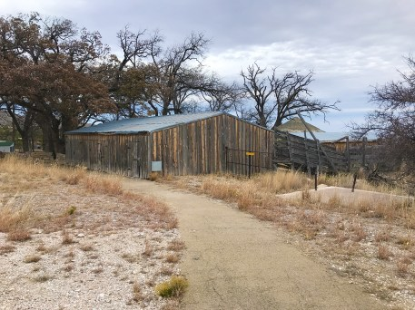 Old Barn at Frijole Ranch