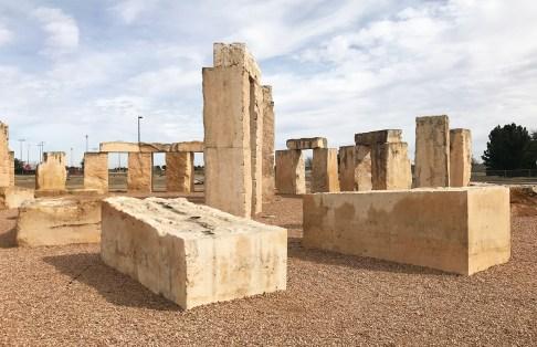 Stonehenge Replica on the campus of University of Texas Permian Basin