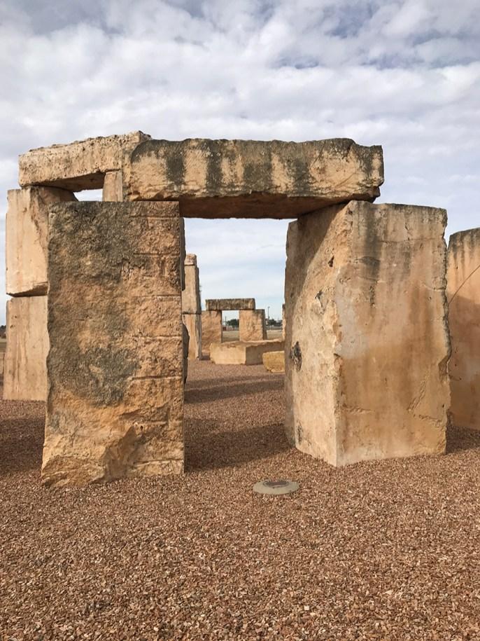 Stonehenge at the University of Texas of The Permian Basin