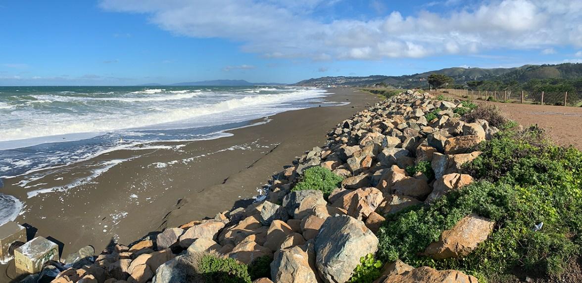 California Coast Beach Mori Point