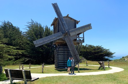 Historic Windmill at Fort Ross