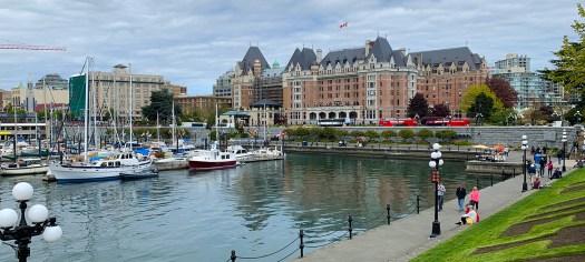 Empress Hotel in Victoria, Canada