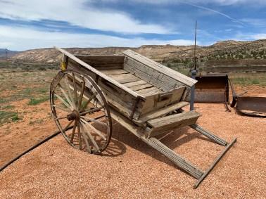 Old Mormon Farm Wagon
