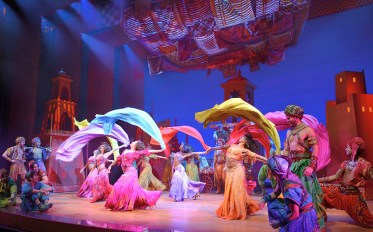 Female Dancers in Broadway Adaptation of Disney's Aladdin