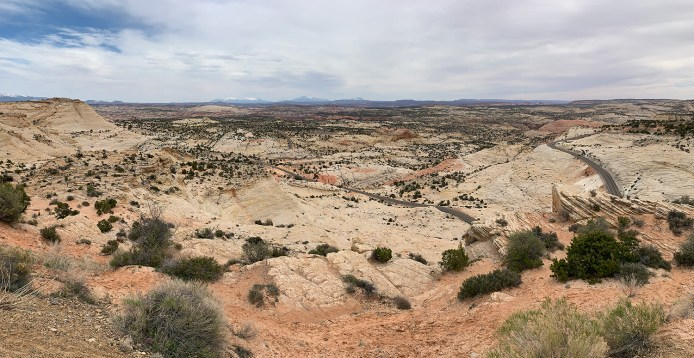 Grand-Staircase-Escalante National Monument Scenic Overlook