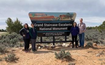 Grand-Staircase-Escalante National Monument Sign