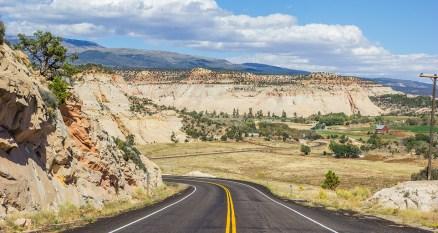 Landscapes along Utah's Highway 12
