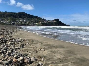 Pacifica Beach in California