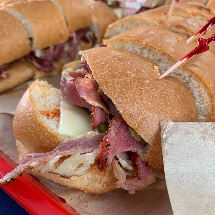 Sac County Fair Food: Grinders Red Hot Pastrami Sandwich