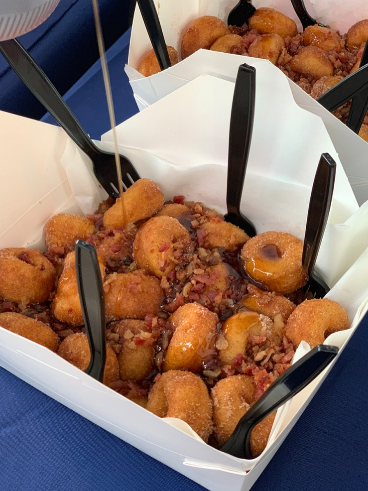 Sacramento County Fair Food: Pig Wheels By Mini Donuts