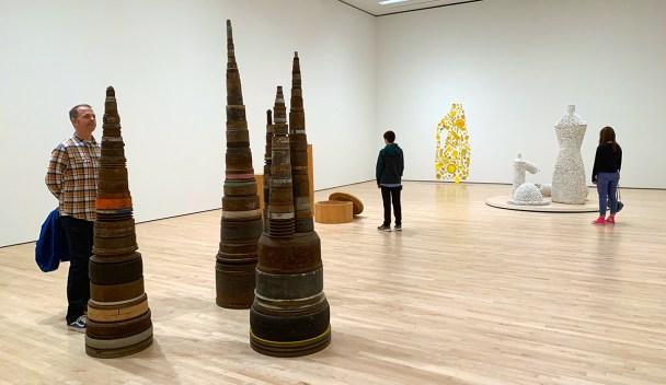 San Francisco MOMA Sculptures