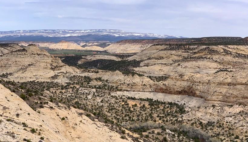 Views of Scenic Byway 12 In Utah