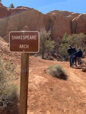 Shakespeare Arch Sign
