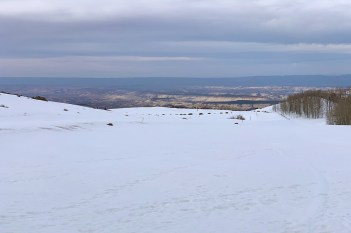 View From Utah 12 Homestead Overlook