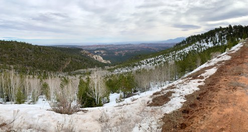 View From Utah's Scenic Byway 12