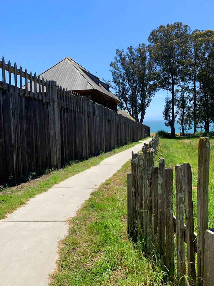 Walking Trail to the Fort Ross Entrance