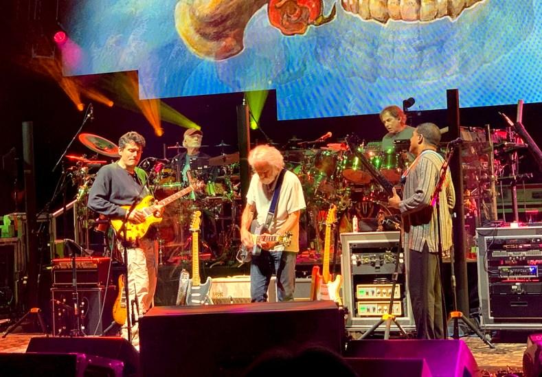 John Mayer And Bob Weir With Dead & Company